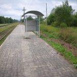 Укладка плитки на ж/д платформе фото 8