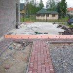 Укладка тротуарной плитки (Коркино) фото 1