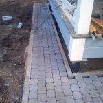 Укладка тротуарной плитки п. Приветино фото 15