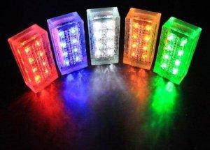 LED плитка тротуарная фото