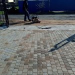 укладка тротуарной плитки (п. дони) фото 21