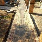 укладка тротуарной плитки (п. усть-ижора) фото 3