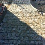 Укладка дорожки из камня фото 2