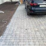 Мощение автомобильной парковки в п. Синявино