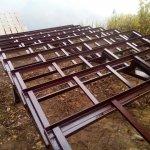 Изготовление и установка металлического каркаса для лестницы в п. Васкелово фото 10