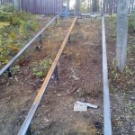 Изготовление и установка металлического каркаса для лестницы в п. Васкелово фото 3