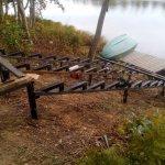 Изготовление и установка металлического каркаса для лестницы в п. Васкелово фото 6