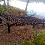 Изготовление и установка металлического каркаса для лестницы в п. Васкелово фото 7