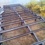 Изготовление и установка металлического каркаса для лестницы в п. Васкелово фото 8