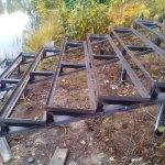 Изготовление и установка металлического каркаса для лестницы в п. Васкелово фото 9