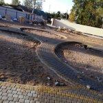 Укладка дорожек из тротуарной плитки в Синявино (ракурс 4)