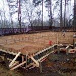 Установка и заливка ленточного фундамента в п. Васкелово фото 19