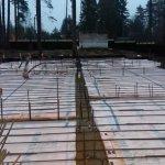 Установка и заливка ленточного фундамента в п. Васкелово фото 21