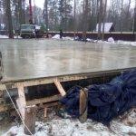 Установка и заливка ленточного фундамента в п. Васкелово фото 24