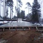 Установка и заливка ленточного фундамента в п. Васкелово фото 25