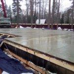 Установка и заливка ленточного фундамента в п. Васкелово фото 26