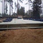 Установка и заливка ленточного фундамента в п. Васкелово фото 27
