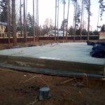 Установка и заливка ленточного фундамента в п. Васкелово фото 28