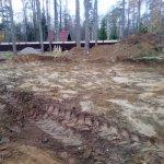 Установка и заливка ленточного фундамента в п. Васкелово фото 3