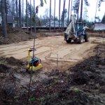 Установка и заливка ленточного фундамента в п. Васкелово фото 8