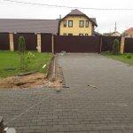 Укладка тротуарной плитки КП Остров фото 11