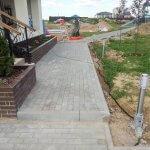 Укладка тротуарной плитки КП Остров фото 23