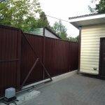 забор из профнастила фото 9