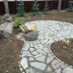 Дорожки из камня Васкелово фото 3