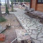 Дорожки из камня Васкелово фото 4