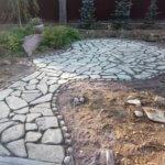Дорожки из камня Васкелово фото 6