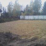 Отсыпка и выравнивание участка под газон Вырица фото 4