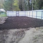Отсыпка и выравнивание участка под газон Вырица фото 6