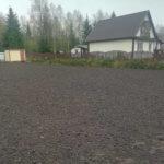 Отсыпка и выравнивание участка под газон Вырица фото 9