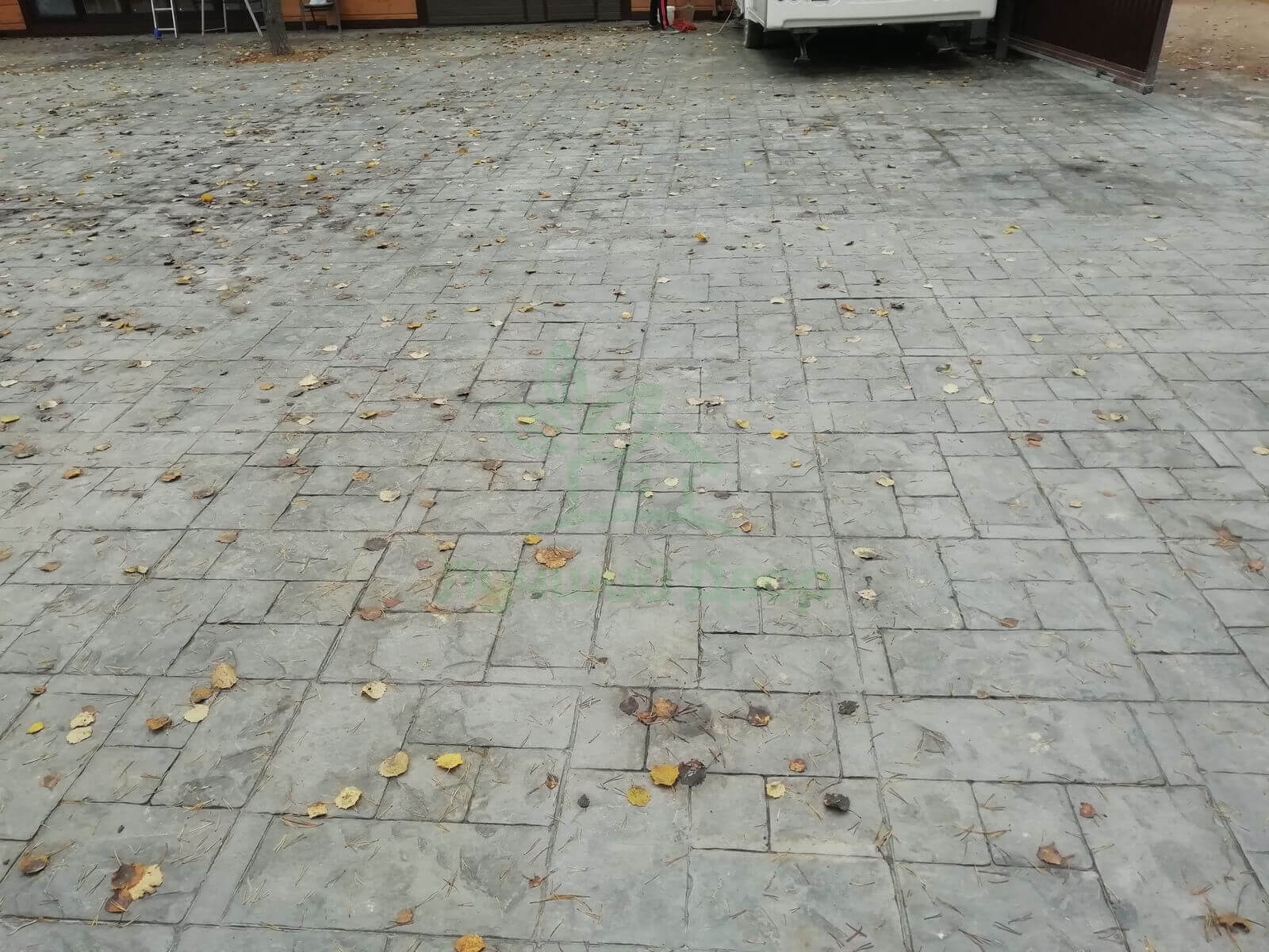 Штампованый бетон Васкелово фото 18