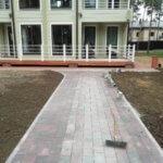 Укладка плитки на бетонное основание Энколово 4