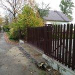 Забор из евроштакетника Горелово фото 4