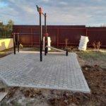 мощение тротуарной плиткой детская площадка фото 1