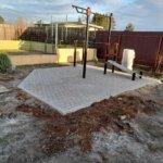 мощение тротуарной плиткой детская площадка фото 2