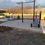мощение тротуарной плиткой детская площадка фото 3