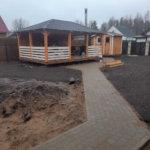 Благоустройство КП Прохладное озеро фото 13