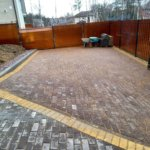 парковка из тротуарной плитки фото 3