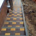 укладка тротуарной плитки на лестнице фото 4